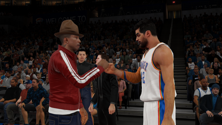 NBA2K15 pharrell Williams