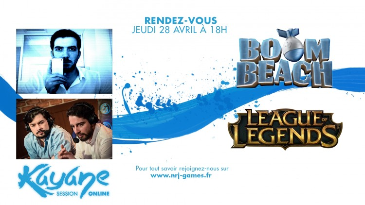 Boom Beach et League of Legends