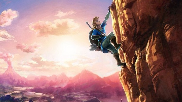 the legend of zelda breath of the wild wii u switch nintendo