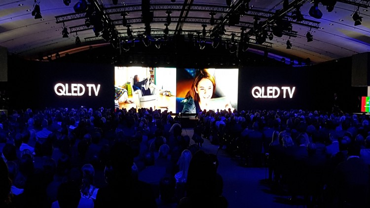 Samsung QLED TV / Paris, mars 2017