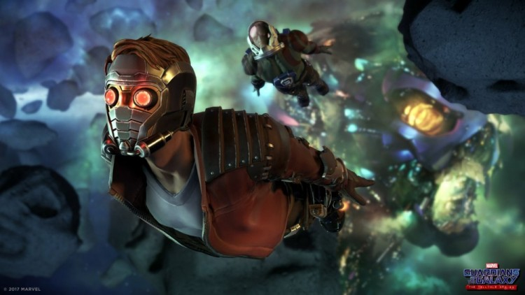 jeux video guardians of the Galaxy